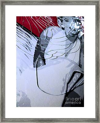 Shattered Framed Print by Robyn King