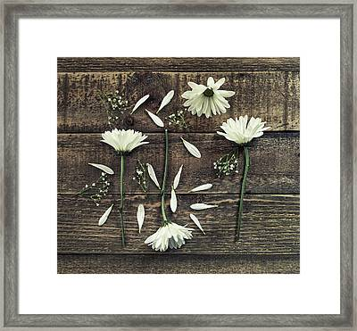 She Loves Me Framed Print by Kim Hojnacki