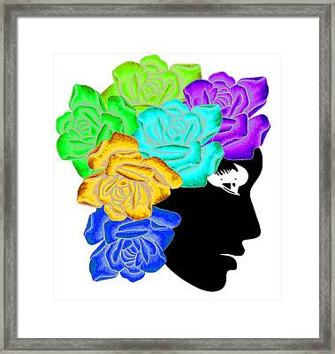 She Framed Print by Ramneek Narang