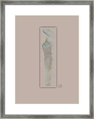 She Spoke Framed Print by Bates Clark