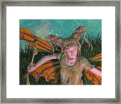 A Mind For Knowing Framed Print by Betsy Knapp