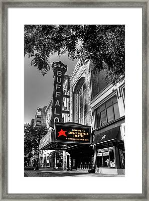 Shea's Theater Buffalo Framed Print by Brian Mcmillen