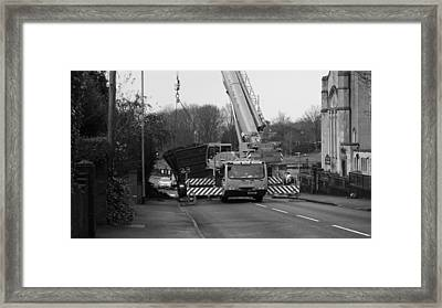 Shed Load Framed Print by Adrian Wale