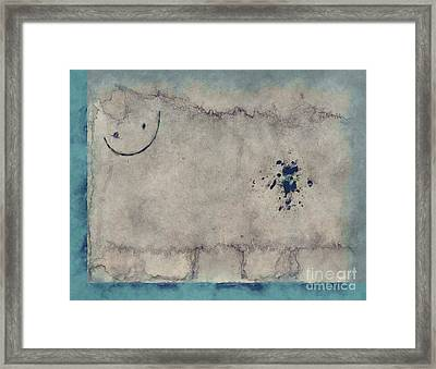 Sheep Or Not So - 99 Framed Print by Variance Collections