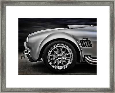 Shelby Cobra Gt Framed Print by Douglas Pittman