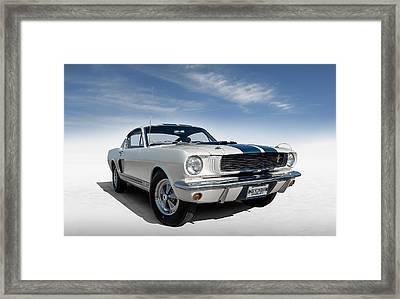 Shelby Mustang Gt350 Framed Print by Douglas Pittman
