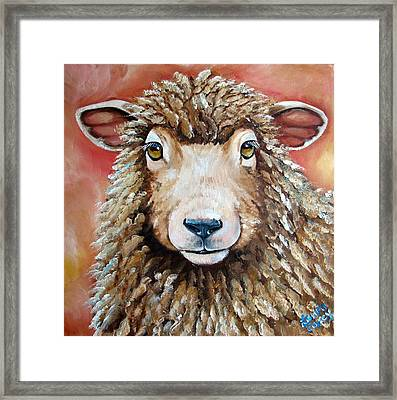 Shelby Framed Print by Laura Carey