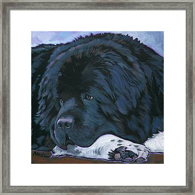 Shelby Framed Print by Nadi Spencer