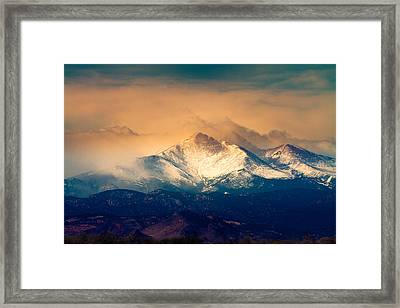She'll Be Coming Around The Mountain Framed Print by James BO  Insogna