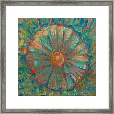 Shell Flower Framed Print by John Keaton