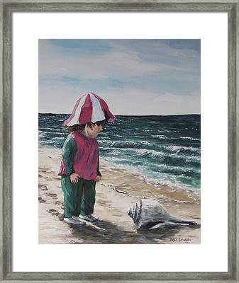 Shello Framed Print by Jack Skinner