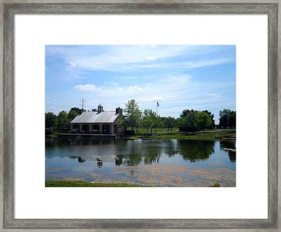Shelter Framed Print by Theresa Adams