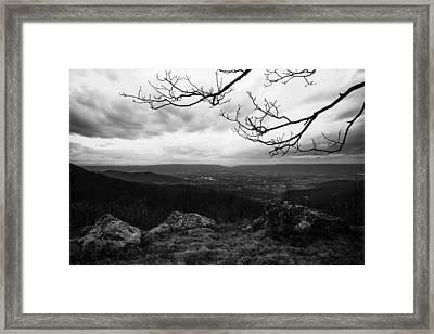 Shenandoah Framed Print by Chad Dutson