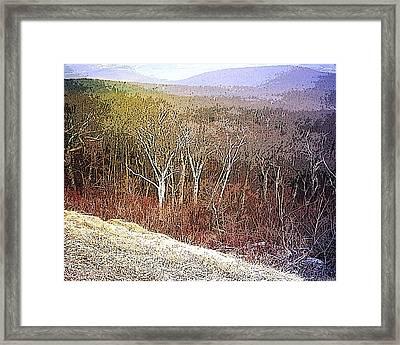 Shenandoah Wilderness Framed Print by Susan  Epps Oliver