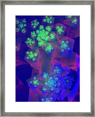 Sherbet Framed Print by Lauren Goia