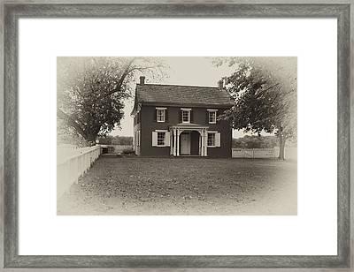 Sherfy Farmhouse Framed Print by Hugh Smith