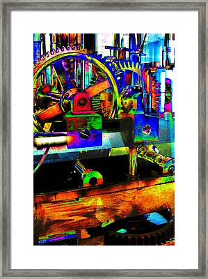 Shifting Gears Framed Print by Colleen Kammerer