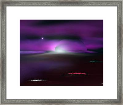 Shining Star Framed Print by Yul Olaivar
