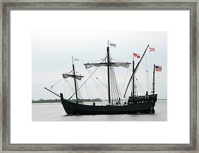 Ship 13 Framed Print by Joyce StJames