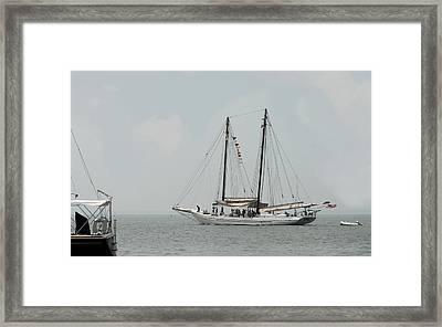 Ship 23 Framed Print by Joyce StJames