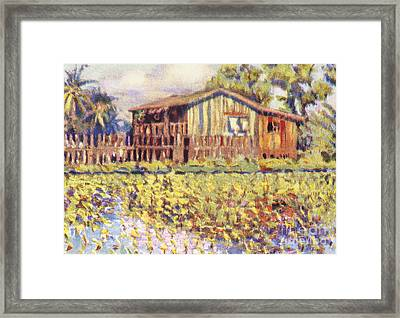 Shirley Russel Art Framed Print by Hawaiian Legacy Archive - Printscapes