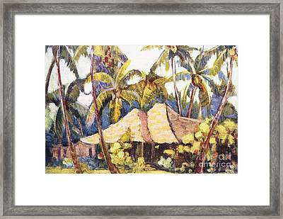 Shirley Russell Art Framed Print by Hawaiian Legacy Archive - Printscapes