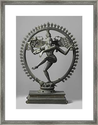 Shiva Framed Print by Indian School