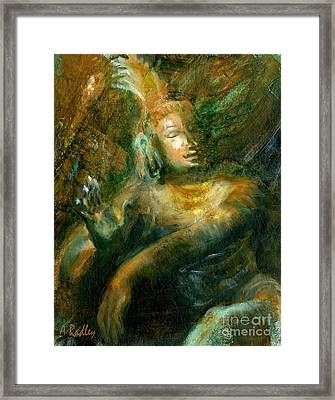 Shiva Lord Of The Dance Framed Print by Ann Radley