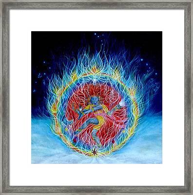 Shiva Nataraja Framed Print by Adrienne Martino
