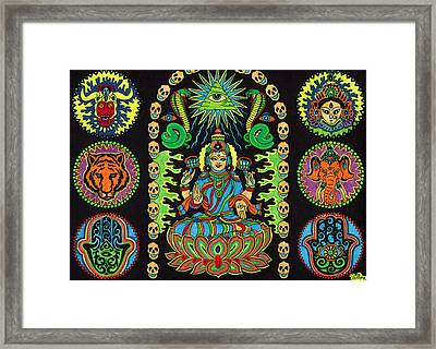 Shivatfairfoot Framed Print by Chris  Rolling
