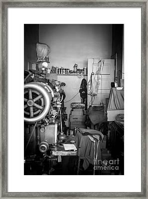Shoemaker Framed Print by Lisa Richards