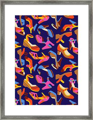 Shoes Framed Print by Sholto Drumlanrig
