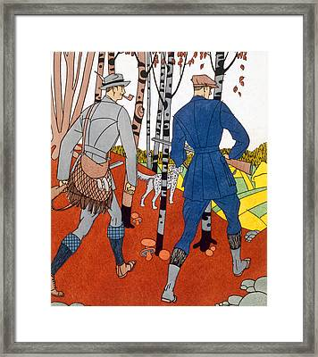 Shooting Trip Framed Print by Maurice Taquoy