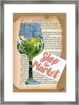 Shop The Market Framed Print by Alyson Appleton