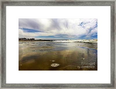 Shoreline Framed Print by Dan Holm