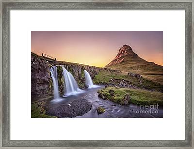 Short Summernights Of Eternal Twilight Framed Print by Evelina Kremsdorf