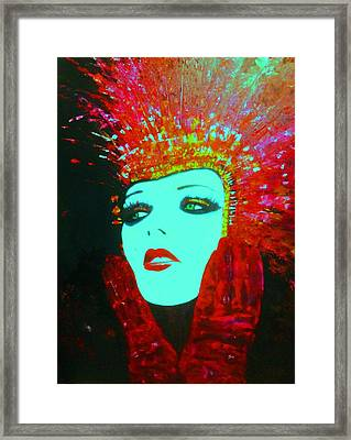 Show Girl Dolly Framed Print by Frederick Lyle Morris