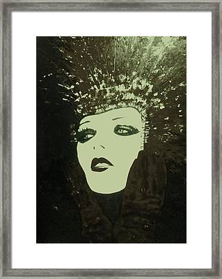 Show Girl Molly Framed Print by Frederick Lyle Morris