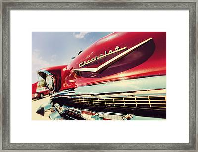 Showy Oldie Framed Print by Caitlyn  Grasso