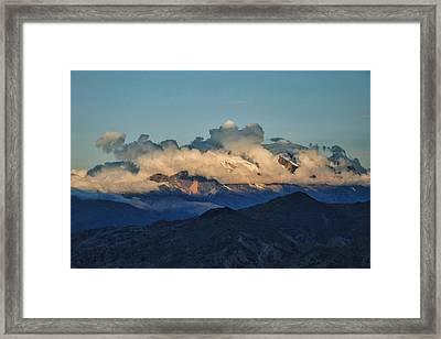 Shroud Framed Print by Skip Hunt
