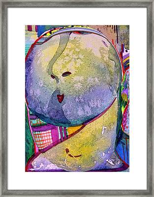 Shy Gal Framed Print by Mindy Newman