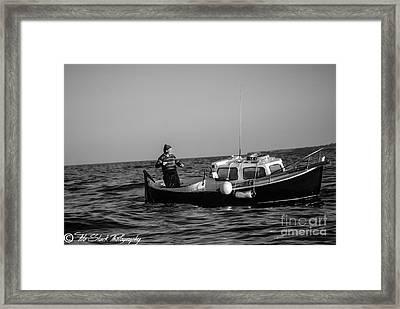 Sicilian Fisherman Framed Print by Tito Slack