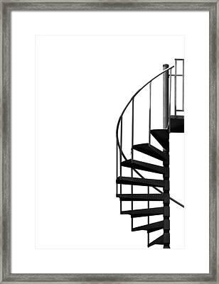Side Entrance Framed Print by Evelina Kremsdorf