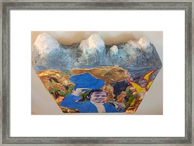 Side Show Mountains Framed Print by William Douglas