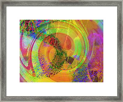 Sideral Forms Framed Print by Contemporary Art