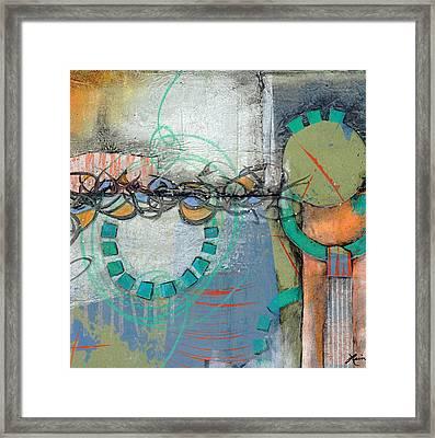 Sidetracked Framed Print by Laura  Lein-Svencner