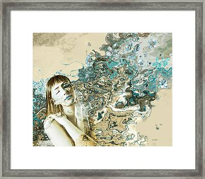 Sienna Bliss Framed Print by Van Renselar