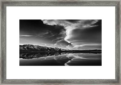 Sierra Cloudbank Framed Print by Joseph Smith