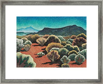 Sierra Negra, North View Framed Print by Dale Beckman