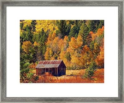 Sierra Solitude Framed Print by Scott McGuire
